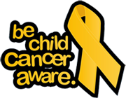 Be Child Cancer Aware logo