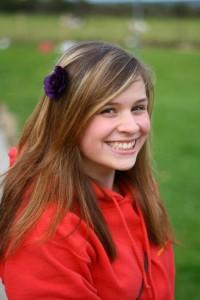 Leah smiling