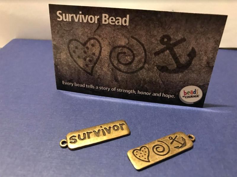 Survivor Brass Bead